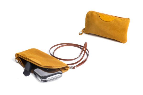 pochette porta cellulare golden