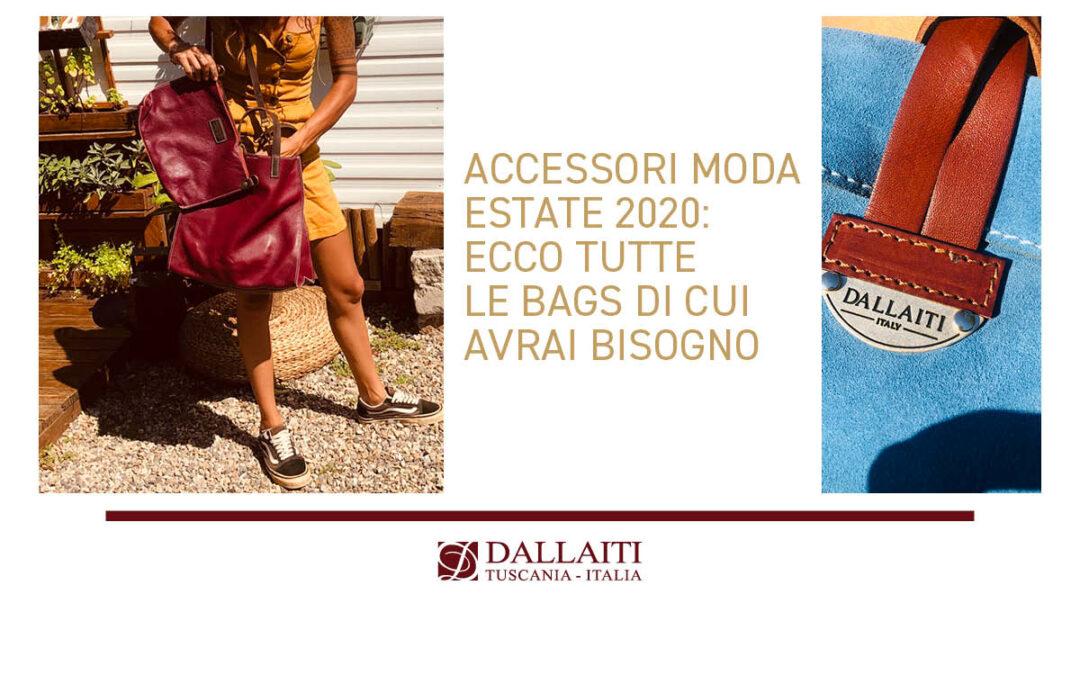 Accessori moda estate 2020: ecco tutte le bags di cui avrai bisogno
