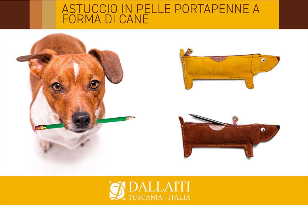 regali per amanti dei cani astuccio cane
