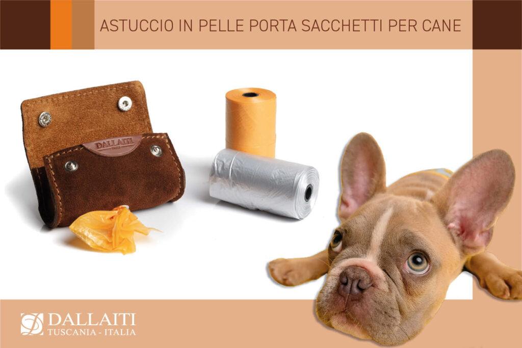 regali per amanti dei cani portasacchetti semplice